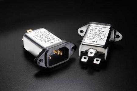 Chassis-kontakter m/ filter ( inlet ) HIFI