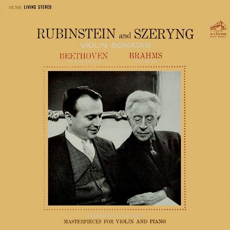 Rubinstein And Szeryng - Beethoven: Sonatas No. 8, Op. 30, No. 3 / Brahms: Sonata No. 1, Op. 78