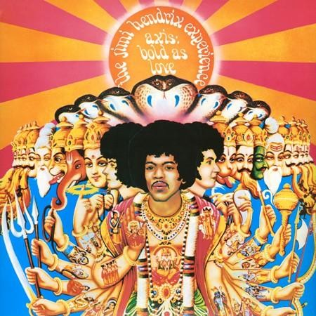 The Jimi Hendrix Experience - Axsis: Bold As Love