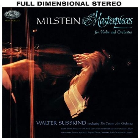 Nathan Milstein: Masterpieces For Violin And Orchestra - Susskind
