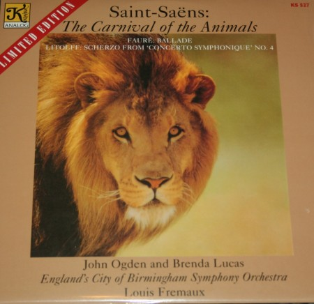 John Ogden: Saint-Saëns: The Carnival Of The Animals