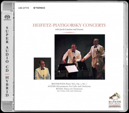 Heifetz / Piatigorsky Concerts: Beethoven, Haydn, Rózsa - With Jacob Lateiner & Guests